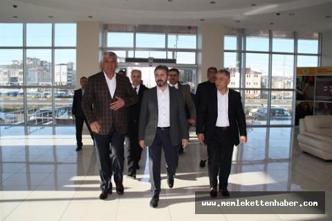 AK Parti milletvekillerinden ATSO'ya ziyaret