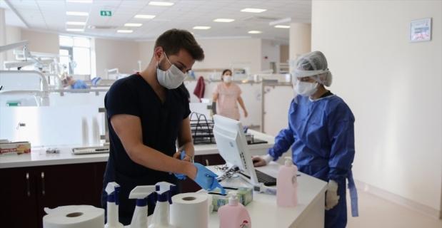 Aldıkları ek tedbirlerle kesintisiz diş tedavisi ve eğitim hizmeti sundular