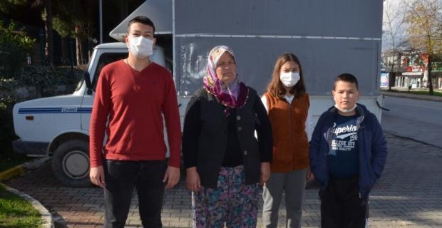Antalya'da kasasında iki çocuğun bulunduğu kamyoneti kaçıran şüpheli yakalandı