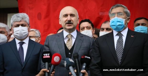 Bakan Karaismailoğlu, en kısa zamanda Amanos Tüneli'nin temelini atacaklarını bildirdi