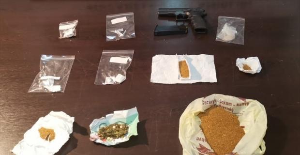 Hatay'da uyuşturucu operasyonu: 10 gözaltı