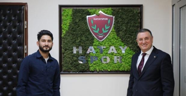 Hatayspor orta saha oyuncusu Muhammed Mert'i transfer etti