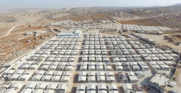 İHH bir yılda Suriye'de 14 bin briket ev inşa etti