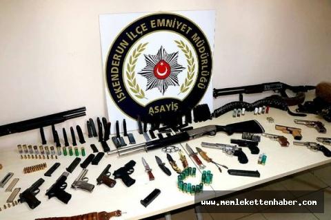 İskenderun'da silah ticareti operasyonu