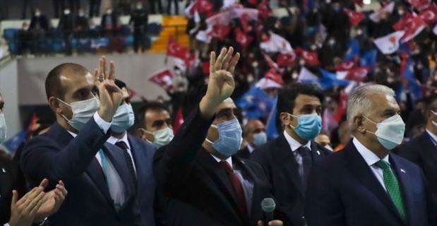 İzmir Milletvekili Binali Yıldırım, AK Parti Mersin 7. Olağan İl Kongresi'nde konuştu: