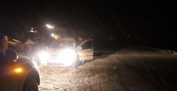 Kahramanmaraş'ta yaylada mahsur kalan 3 kişi kurtarıldı