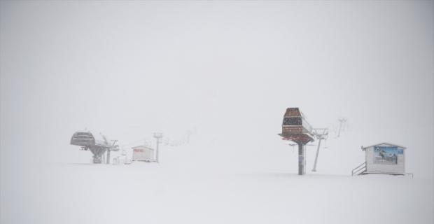 Kahramanmaraş'taki Yedikuyular Kayak Merkezi