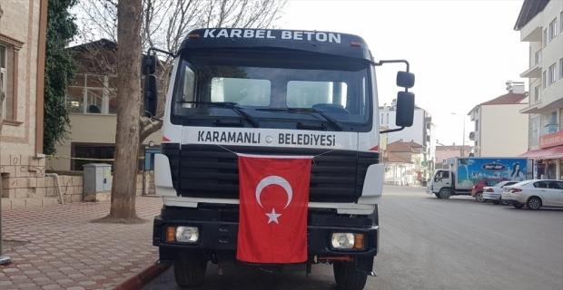 Karamanlı'da hazır beton tesisi kurulacak