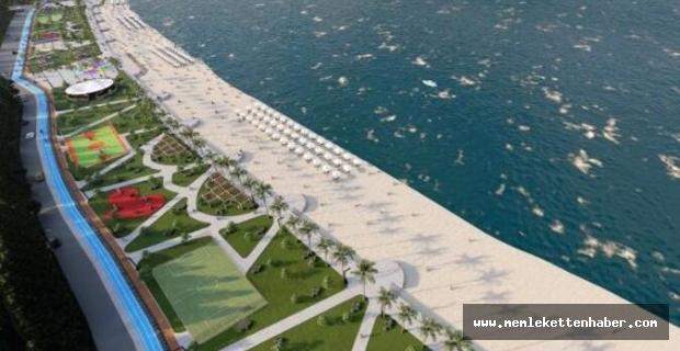 Kemer'de Kındılçeşme sahil projesi çalışmaları başladı
