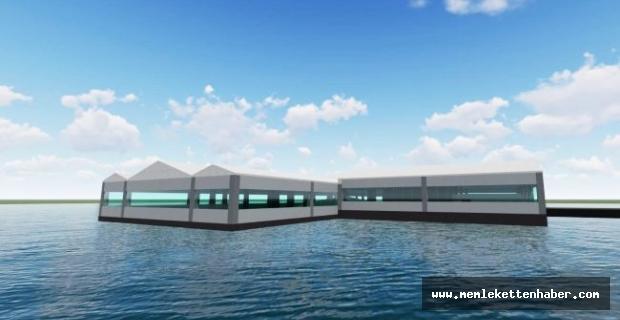 Malatya'da su üstünde yüzen restoranın proje alanı incelendi