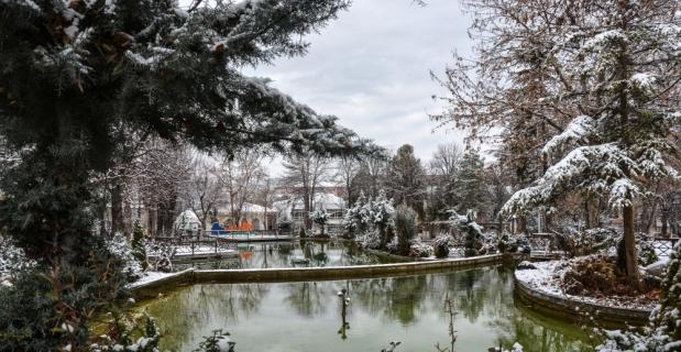 Malatya ve Kahramanmaraş'ta kar yağışı etkili oldu