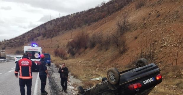 Malatya'da 2 ayrı trafik kazasında 6 kişi yaralandı