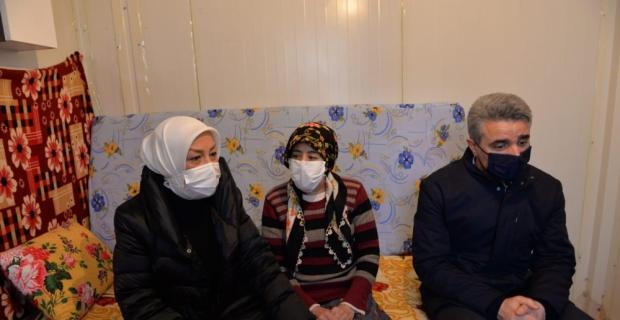 Malatya'da kent protokolü depremzede aileleri yalnız bırakmadı