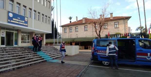 Mersin'de DEAŞ operasyonunda bir şüpheli yakalandı