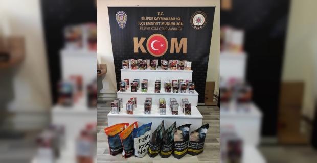 Mersin'de kaçak tütün satan 1 kişi gözaltına alındı