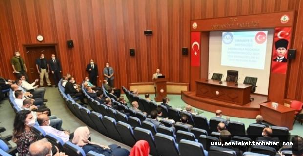 Osmaniye'de Bağımlılıkla Mücadele İl Koordinasyon Kurulu toplantısı yapıldı