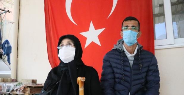 Şehit Başçavuş Ferhat Gedik'in ailesi Eren Operasyonlarına destek verdi