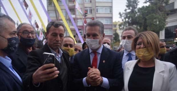 Türkiye Değişim Partisi Genel Başkanı Sarıgül, Mersin'de konuştu: