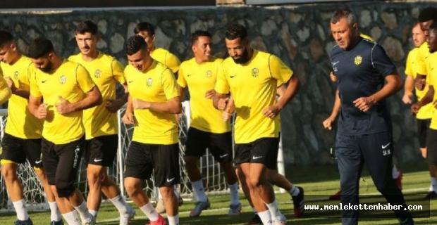 Yeni Malatyaspor, Fatih Karagümrük maçının hazırlıkları sürdürdü