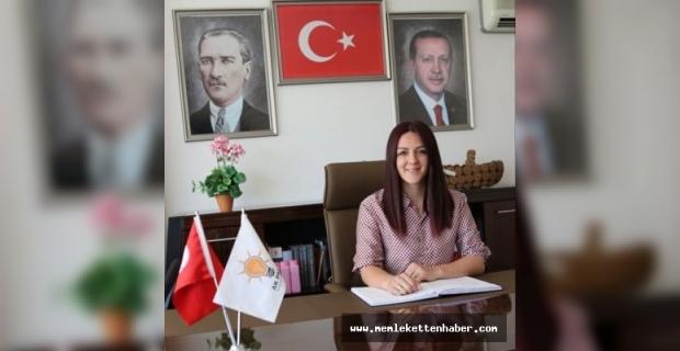 AK Parti Antalya İl Kadın Kolları Başkanı Ayşe Keyik Yılmaz teşekkür mesajı yayımladı: