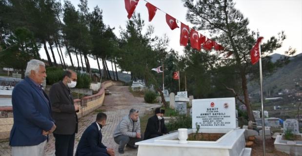 BBP Genel Başkan Yardımcısı Yardımcıoğlu'ndan şehit ailelerine ziyaret