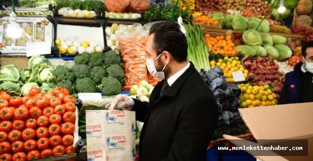 Elbistan Belediyesi'nden 'Online değil yerinde alışveriş' kampanyası