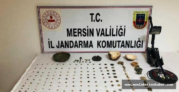 Mersin'de tarihi eser operasyonları