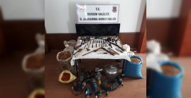 Mersin'de yayla evlerinden hırsızlık yapan 3 şüpheli tutuklandı