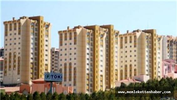 Mut'ta TOKİ evleri inşaatı devam ediyor
