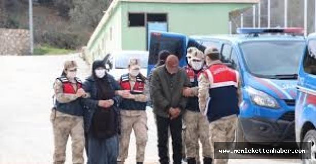 Suriye'den Türkiye'ye yasa dışı yollardan girmeye çalışırken yakalanan 4 terör örgütü üyesi tutuklandı