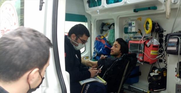 Adana'da şofben patlaması sonucu bir kişi yaralandı