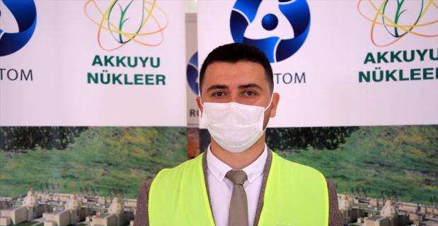 Akkuyu NGS'de çalışan genç Türk mühendisler ülkelerine hizmet etmenin gururunu yaşıyor