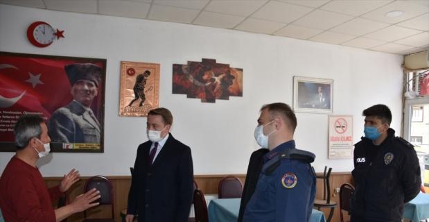 Akseki'de Kovid-19 tedbirleri kapsamında denetimler yapıldı