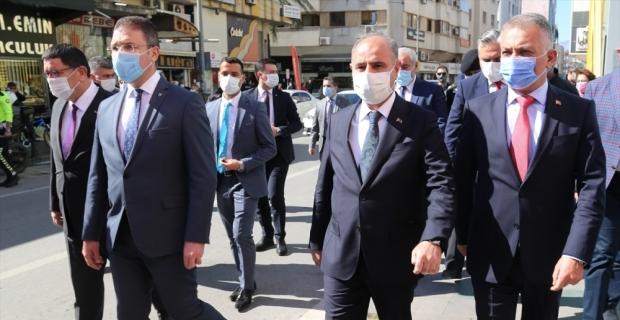 Antalya'da Kovid-19 denetimlerine katılan Emniyet Genel Müdürü Mehmet Aktaş: