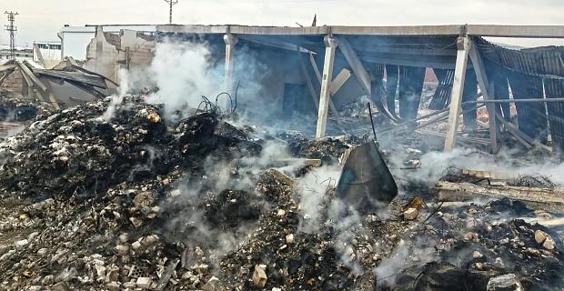 Başkan Güngör, yangın bölgesinde incelemelerde bulundu