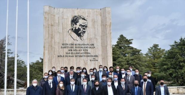 DEVA Partisi Genel Başkanı Ali Babacan, partisinin Mersin'deki ilçe kongresine katıldı