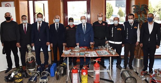 Kahramanmaraş'ta deprem haftasında farkındalık eğitimi
