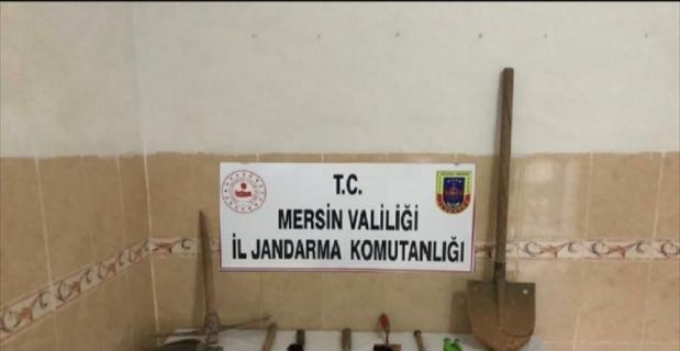 Mersin'de define ararken yakalanan 6 kişiye Kovid-19 tedbirlerini ihlalden 37 bin 800 lira ceza