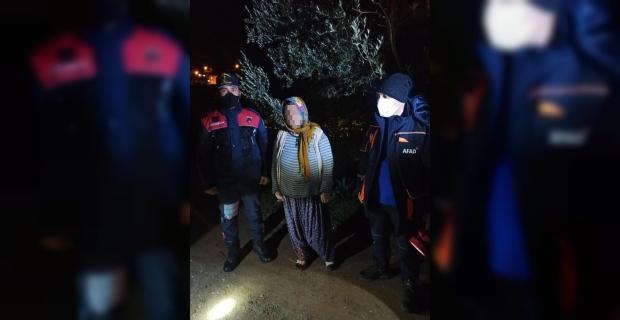 Mersin'de kayıp ihbarı yapılan kadını AFAD ekipleri buldu