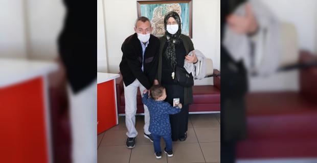 """Minik Umut'un """"anne"""" sözü 35 yıllık evlat hasretine son verdi"""