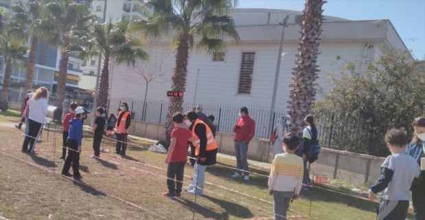 Osmaniye'de 14 yaş altı oryantring yarışması yapıldı