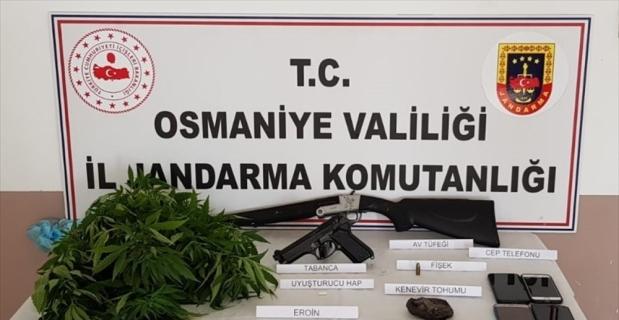 Osmaniye'de uyuşturucu operasyonunda 8 şüpheli yakalandı