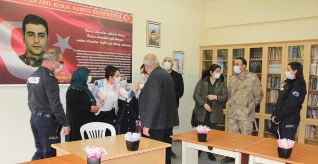 Şehit polis Anıl Kemal Kurtul'un adı, memleketi Hatay'daki kütüphanede yaşatılacak