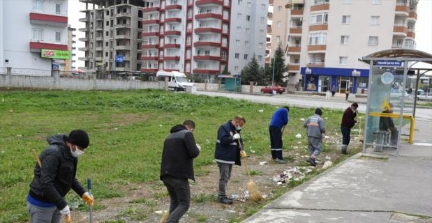 Tarsus Belediyesi genel temizlik çalışması yaptı