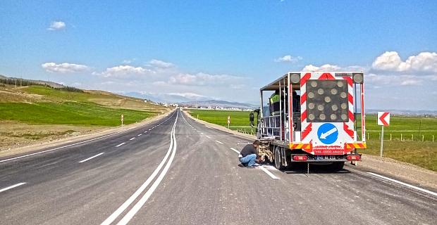 Türkoğlu Mahir Ünal Caddesi son aşamada
