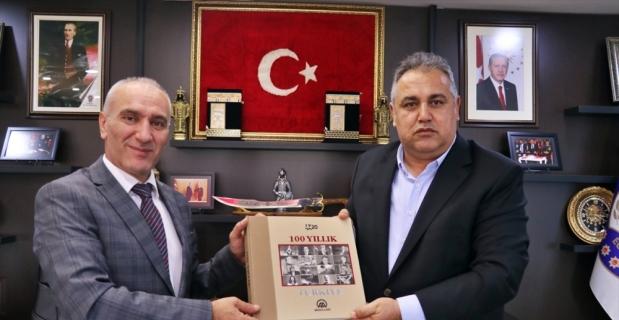 AA Adana Bölge Müdürü Firik'ten, Osmaniye Emniyet Müdürü Okumuş'a ziyaret