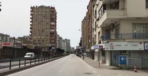 Adana, Mersin, Hatay ve Osmaniye'de sessizlik hakim