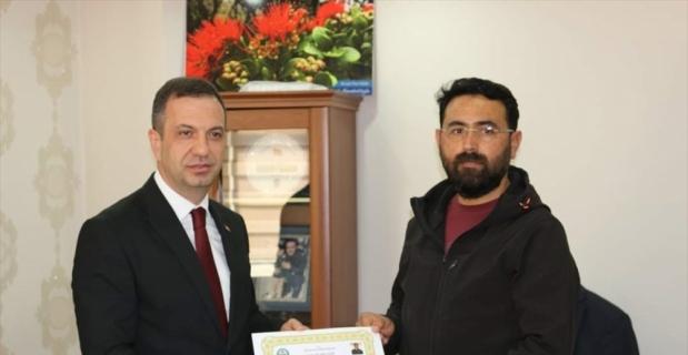 Adana'da silah kaçakçılığını ortaya çıkaran polisler ödüllendirildi