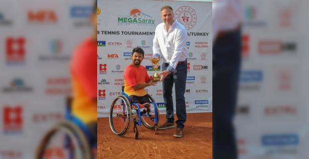 Antalya'da düzenlenen uluslararası tekerlekli sandalye tenis turnuvaları sona erdi