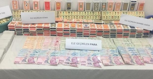 Antalya'da kıraathanede kumar oynayarak Kovid-19 tedbirlerini ihlal eden 16 kişiye para cezası verildi